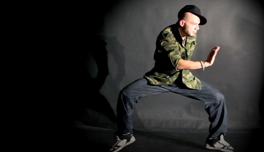 Actiefoto Funk directory Break dancer