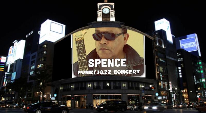 Spence funk jazz concert